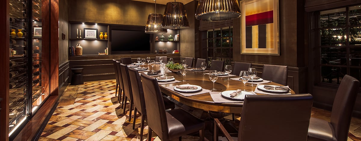 restaurant overview outdoor dining - Private Dining Rooms